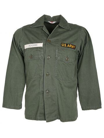 60s BVD Civilian Bought US Army Utility Shirt - M