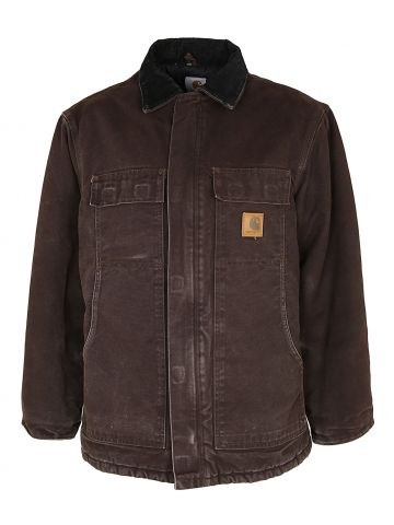 Carhartt Duck Canvas Quilted Chore Jacket - L