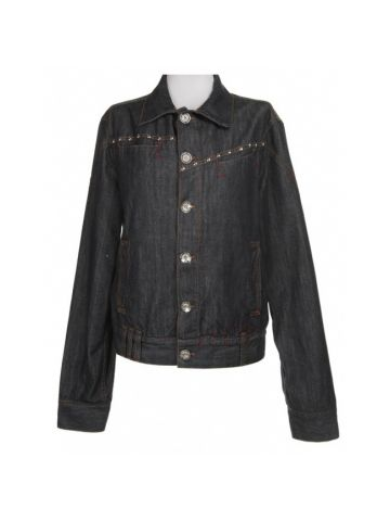 Moschino Dark Blue Denim Jacket - M
