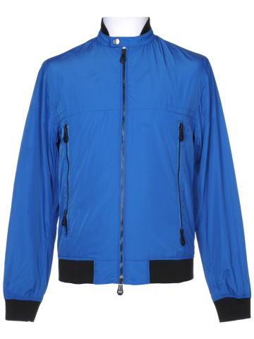 DKNY Blue Harrington Jacket - S