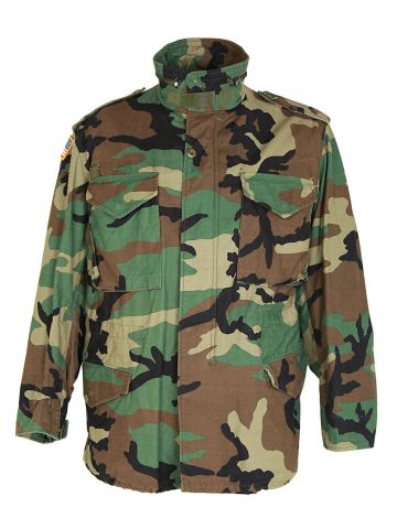 US Army M-65 Camouflage Field Jacket - L