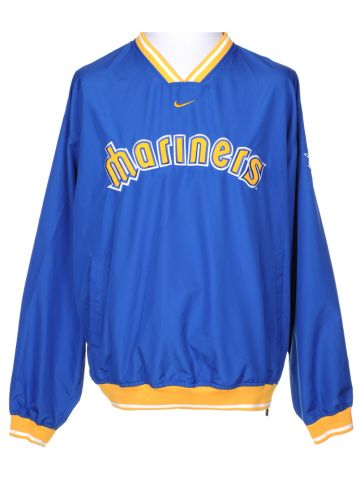 NIke Blue Seattle Mariners Sport Jacket - L