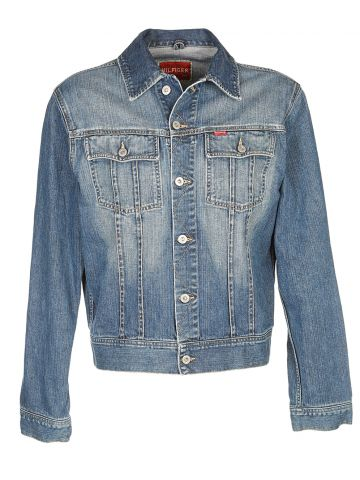 Tommy Hilfiger Blue Denim Jacket - L
