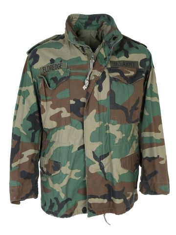 US Army Woodland Camouflage M-65 Jacket -S