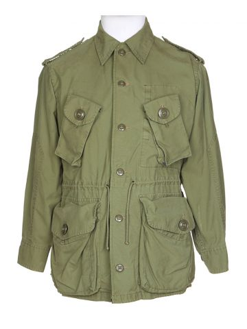 Green Military Field Jacket - S