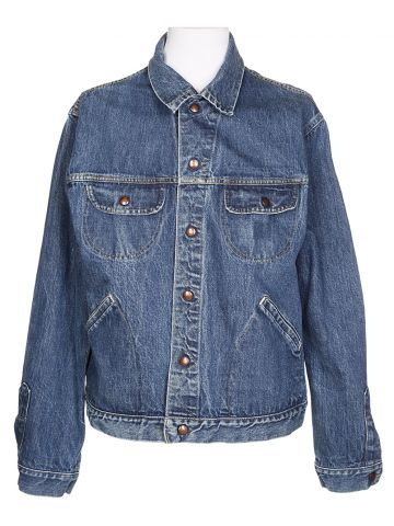 60s GWG Blue Denim Jacket - L