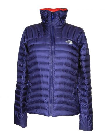 North Face Purple Anorak Jacket - S