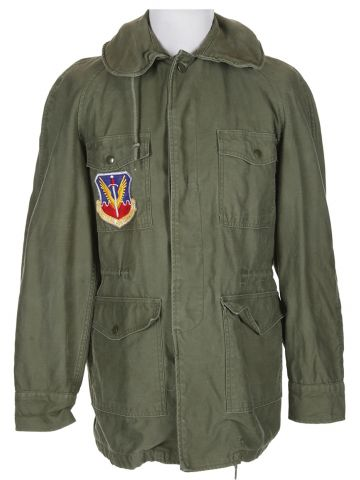 60s Green Vietnam Military Army Field Jacket