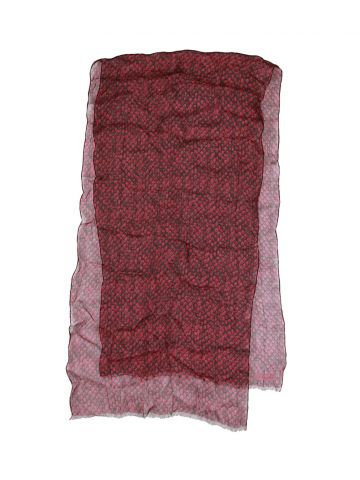 Coach Pink Snake Print Scarf