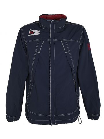 Tommy Hilfiger Navy Blue Zip Up Anorak Jacket - M