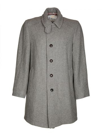 80s London Fog Grey Coat - S