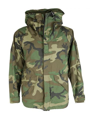 US Army Camouflage Military Parka - S