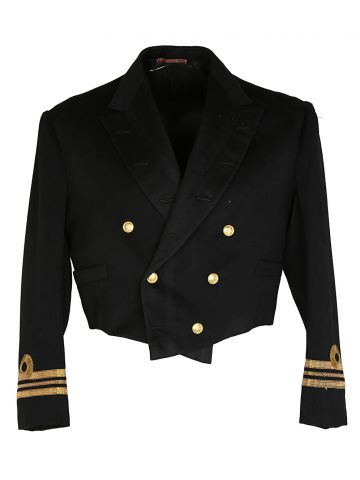 40s Canadian Naval Dress Tunic Jacket - L