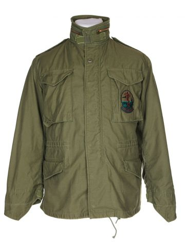 Green Combat Field Jacket - M