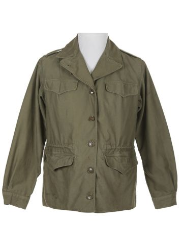 40s US Army M43 WWII Field Jacket - S