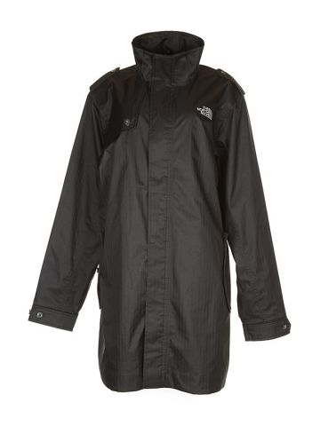 North Face Black Waterproof Coat - XL