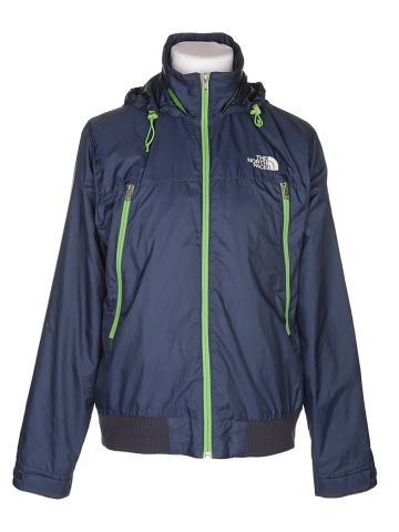 North Face Navy Track Jacket - L