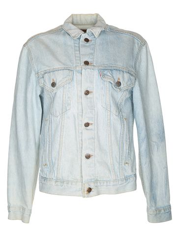 80s Levi's Light Blue Denim Jacket - S