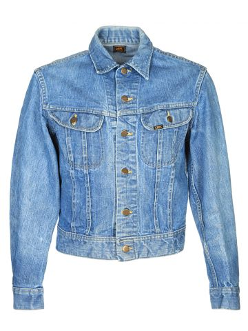 Vintage 70's Lee Denim Jacket - M
