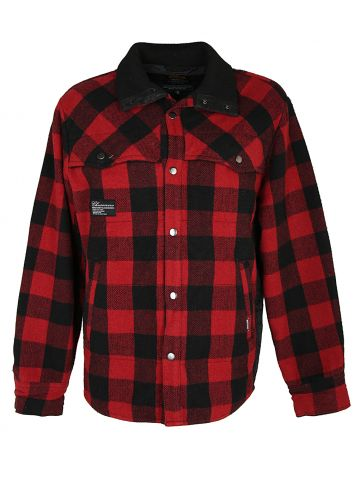 Red and Black Buffalo Check Jacket - XL