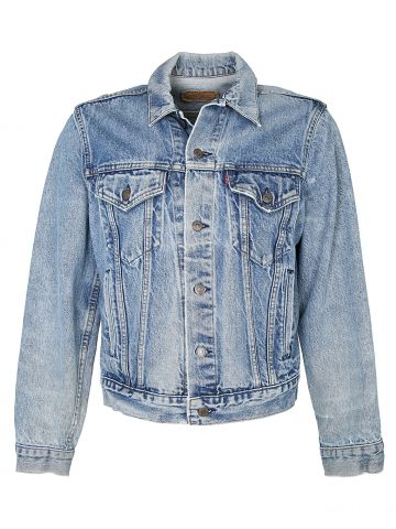 Blue Levis Trucker Jacket - M