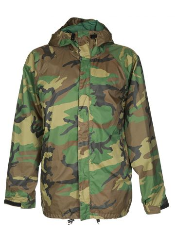 ?Green Camouflage Field Jacket - L