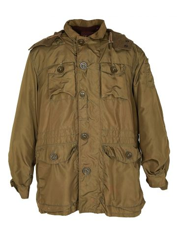 60s Canadian Military Green Winter Parka - M