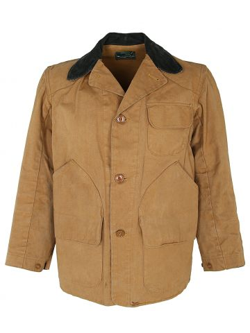 Vintage 50's Montgomery Ward Western Field Duck Canvas Hunting Jacket - S
