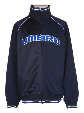 90s Umbro Blue Track Jacket - L