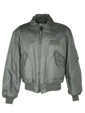 Green US Air Force Flying Jacket - XL