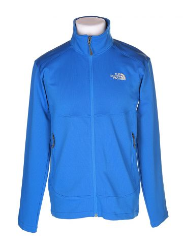 The North Face Blue Track Jacket - L