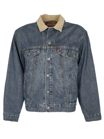 Levis Blanket Lined Denim 70518 Trucker Jacket - M