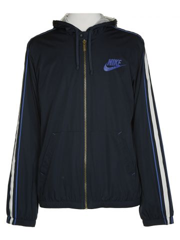 Nike Blue Anorak Jacket - M