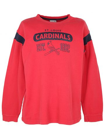 Red St Louis Cardinals Long Sleeved T-Shirt - L