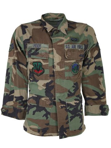 US Army Woodland Camo Jacket - XS