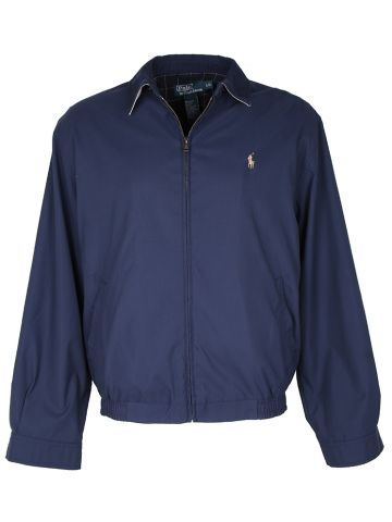 Blue Ralph Lauren Harrington Jacket - L
