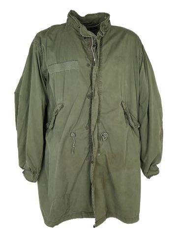 1974 US Army M65 Extreme Cold Weather Fishtail Parka - M