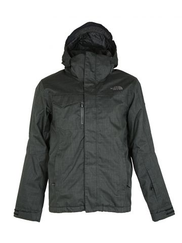North Face Grey Rain Jacket - S