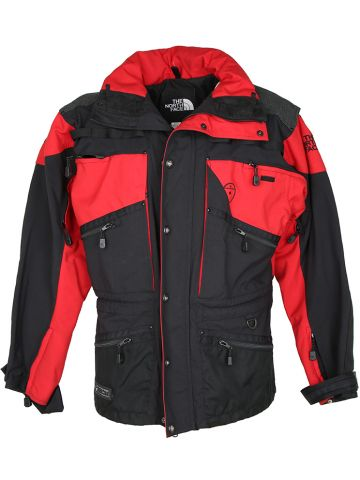 North Face Red and Black Steep Tech Jacket - L