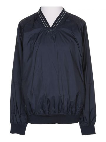 90s Nike Navy Shell Sweatshirt - L