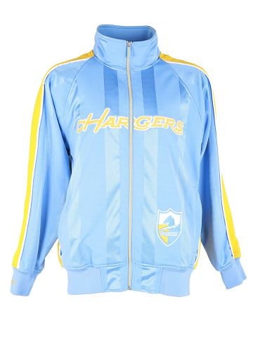 Blue & Yellow Hargers Track Jacket - M